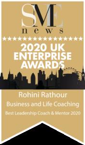 Best Leadership Coach & Mentor 2020 award